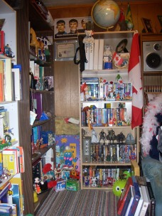 Book Shelves The Fourth!!!! (Actually DVD's)
