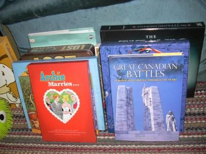 Books On The Floor!!!!!