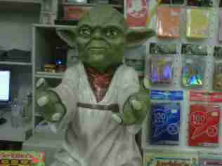 Yoda! But He Is Gone Already!!