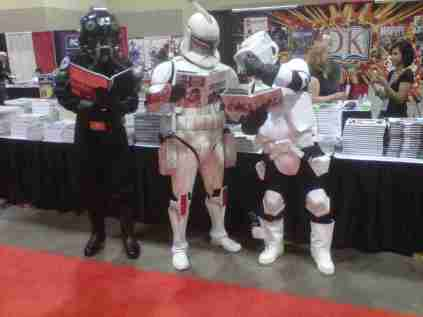 Stormtroopers Reading!!