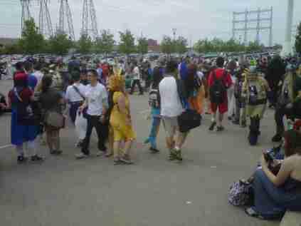 Masses Outside!
