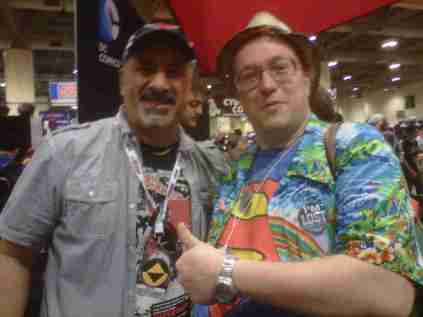 DC Comics Dan DiDio and I have our annual meeting!!