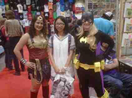 Wonder Woman and Batgirl saving a civilian!!