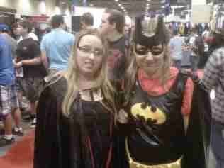 Batgirl and a Jedi Unite!!
