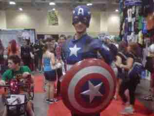 Hello Captain America!!