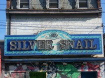 26 Silver Snail Sign