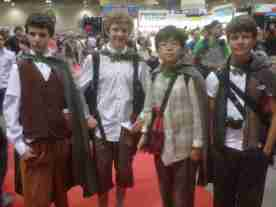 These Hobbits Are Walking Into Mordor!!!!