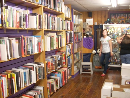 A Wall Of Books!