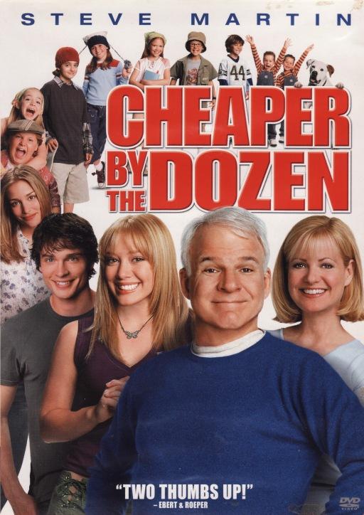 Three Random Thoughts On Cheaper By The Dozen   scoopsmentalpropaganda