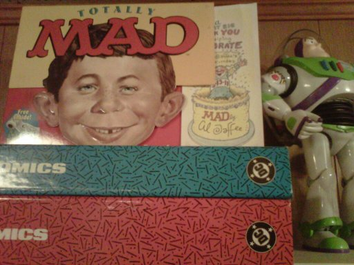 My MAD CD Rom, right next to good old Buzz!