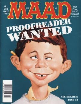 MAD Proofreader