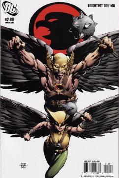 Brightest Day Hawkman Hawkwoman