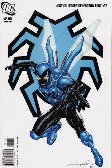 Justice League Generation Lost Blue Beetle