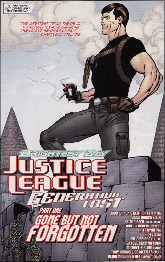 Justice League Generation Lost Max Lord