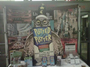 Potted Potter Display 2