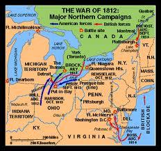 1812 War Map