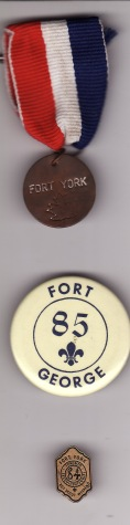 Scouts 1812 Buttons