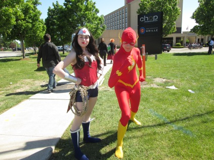 Wonder Woman and The Flash!!