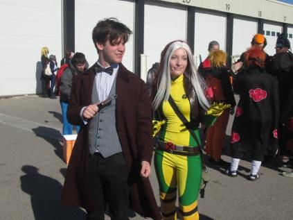 Dr Who meets Rogue!