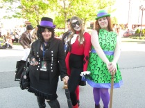 Hello Harley!!! And your BFF's Penguin and Riddler!!