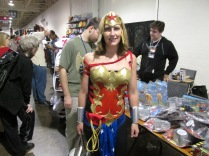 It's Wonder Woman!