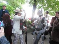 Seven versus a Cyberman!!