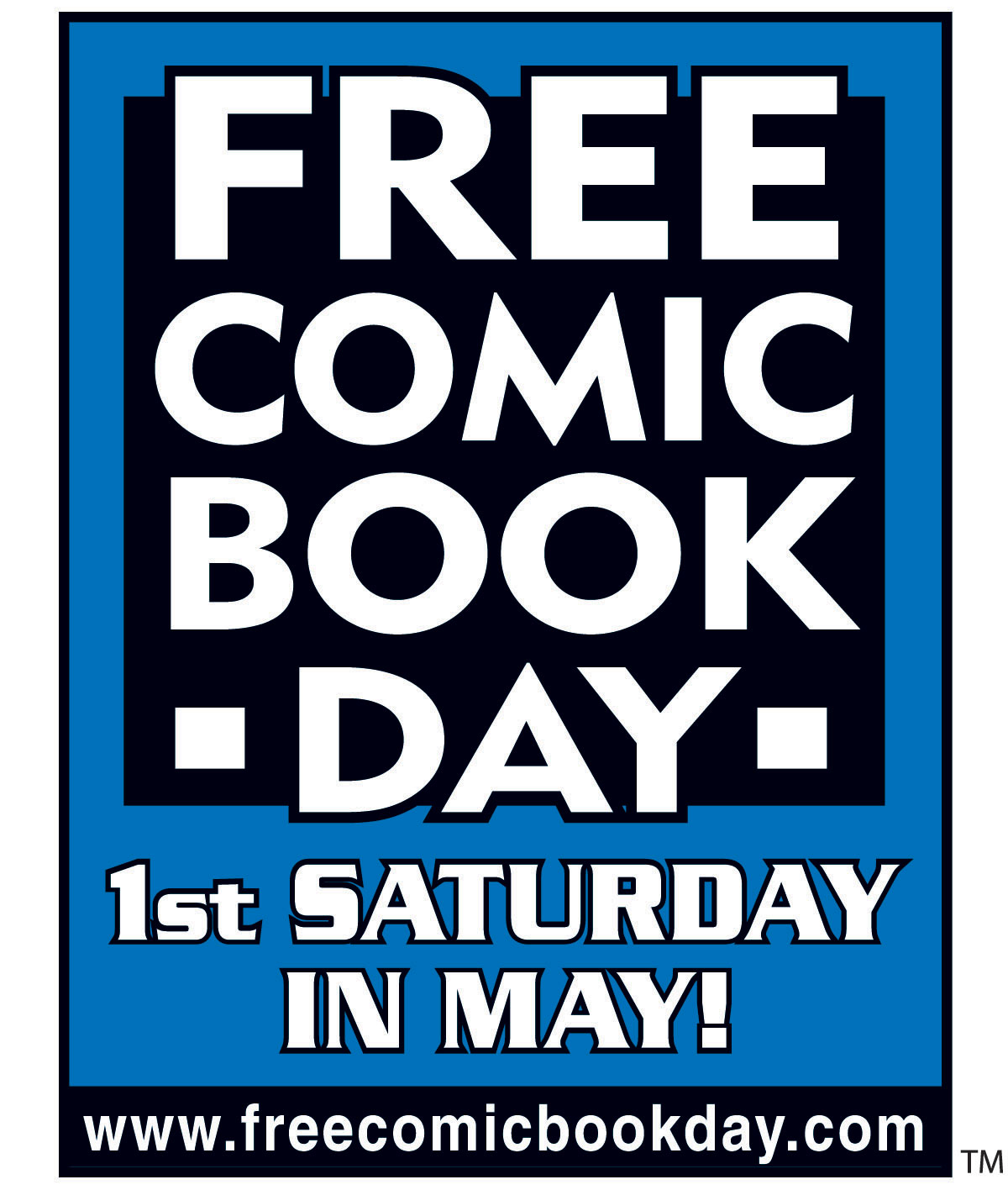 Free Comic Book Day Flyer: Free Comic Book Day!!!!