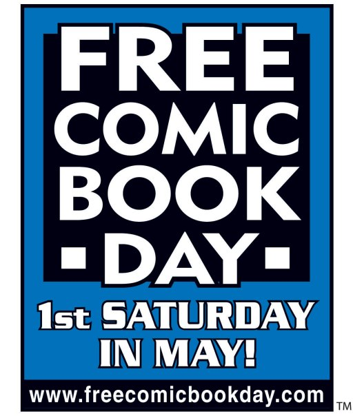 Free Comic Book Day Logo 2