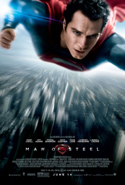 Superman Man Of Steel poster 1