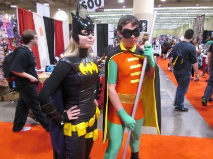 Batgirl and Robin! aka @OS_Blogger