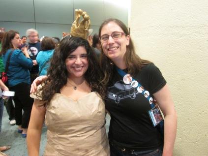 The Paperbag Princess aka @Taliana83 and @AinslieKeith!!