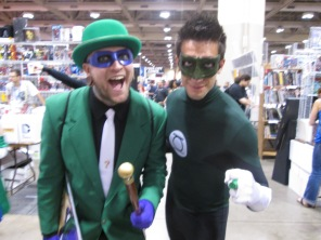 Riddler and Green Lantern are coming at ya!!