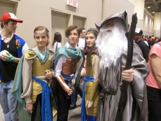Gandalf and the Elves!!