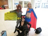 Batgirl meets Supergirl meets Catwoman!!!