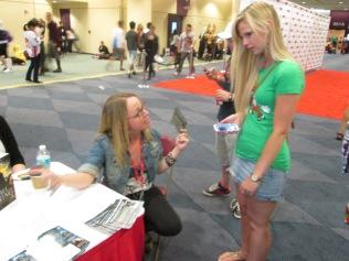 Writer @LesLivingston meets a fan!!