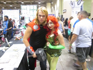 Thor meets Poison Ivy!!
