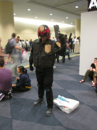 Judge Dredd is in the house!!