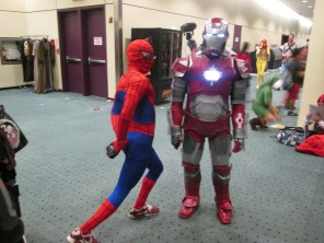 Spiderman about to take on Iron Man!!