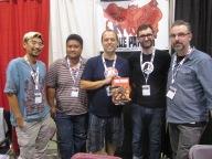 The True Patriot crew!! Howard Wong, J Torres, Jack Briglio, J Bone and Jay Stephens!!