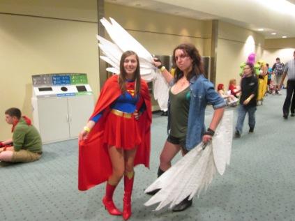 Supergirl meets Supernatural!!