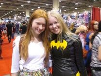 Batgirl and Lilith!