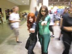 Black Widow and Green Lantern!!