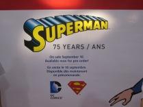 Superman stamps sign!!