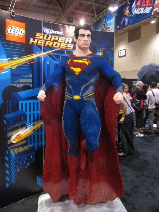 Superman made of Lego!!