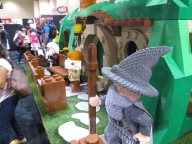Lord Of The Rings made of Lego!!