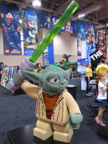 Yoda made of Lego!!