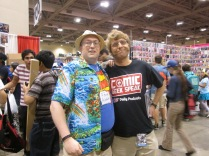 Scoop and Murd from @ComicGeekSpeak!!