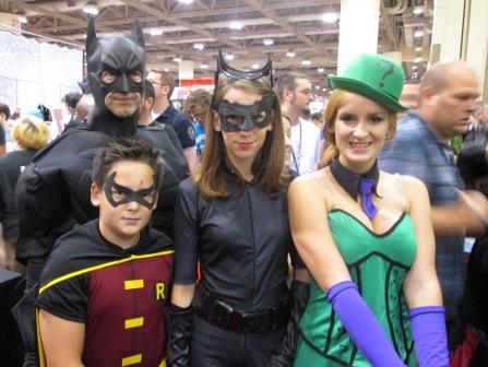 5 Batman Robin Catwoman Riddler