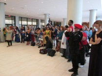The Dr Who Photo Shoot Adoring Crowds!!