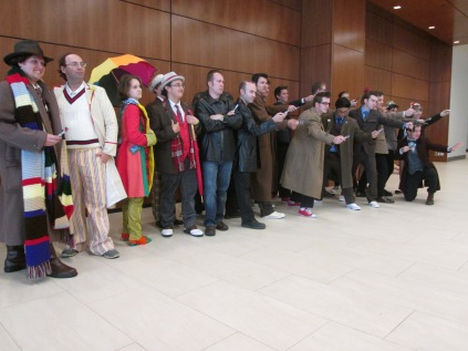 All the Dr Who's in order!!